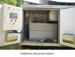 Cellphone site power station