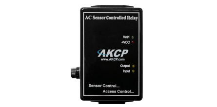 AC Sensor Controlled Relay - The Sensor Controlled Relay can control the electrical power to devices managed over the Internet