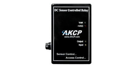 DC Sensor Controlled Relay - The Sensor Controlled Relay can control the electrical power to devices managed over the Internet