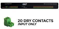 sensorProbe8-X20 Computer Room Dry Contact Monitoring 20