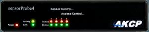 sensorProbe4 - 4 Intelligent Sensor Ports - Email and SNMP Alerts