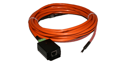ropeFuel Sensor - The ropeFuel sensor detects the presence of liquid hydrocarbon fuels at any point along its length