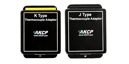J-K Thermocouple Adapters - Integrate third party thermocouple with your securityProbe
