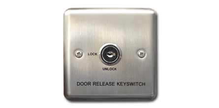 External Lock Override - This switch is mandatory for all Doors that are controlled by an AKCP Door Control Unit