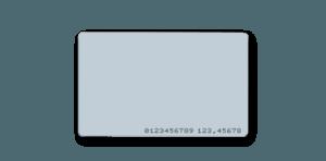 PVC Access Card