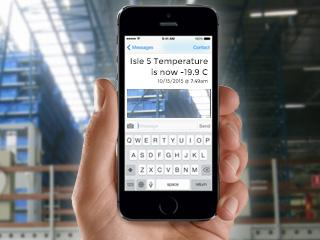 Cold Storage Isle Temperature Monitoring and Alerting