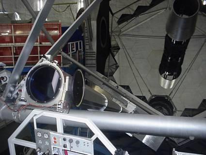 Keck Observatory laser telecsope