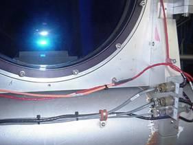 AKCP sensor on laser telescope