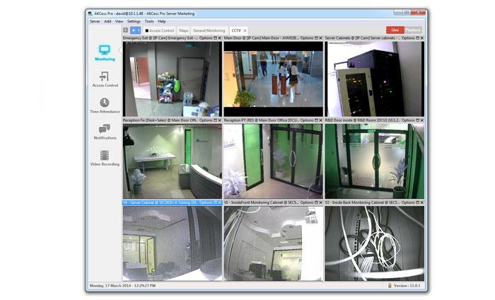 Computer Server Room Temperature Monitoring