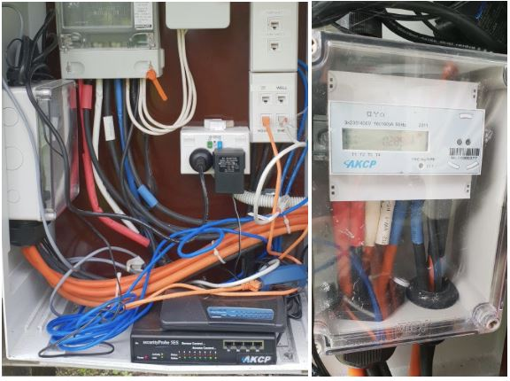 HVAC Remote Monitoring of power