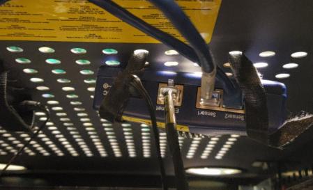 AKCP SP2 installed in IT cabinet