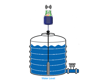 chiller tower water level