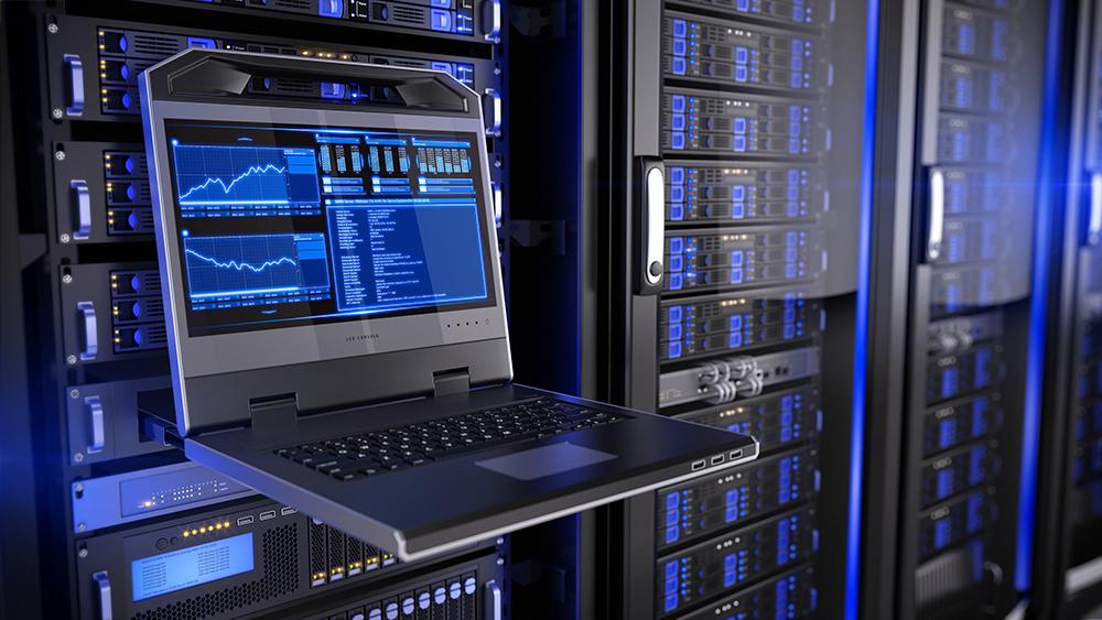 data center monitoring screen