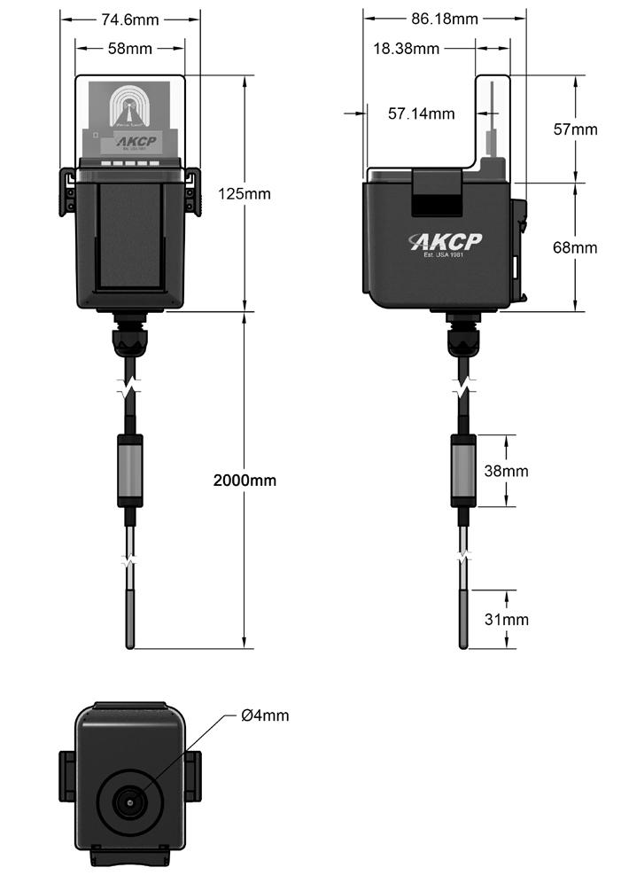 Wireless Ultra Cold Temperature Sensor
