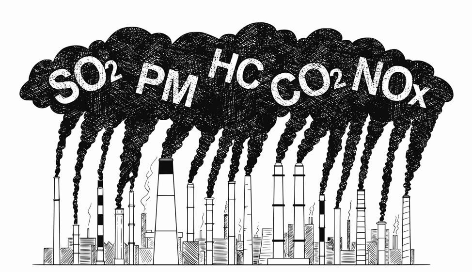common air pollutants