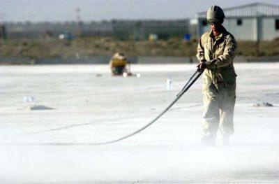 concrete spraying and fogging