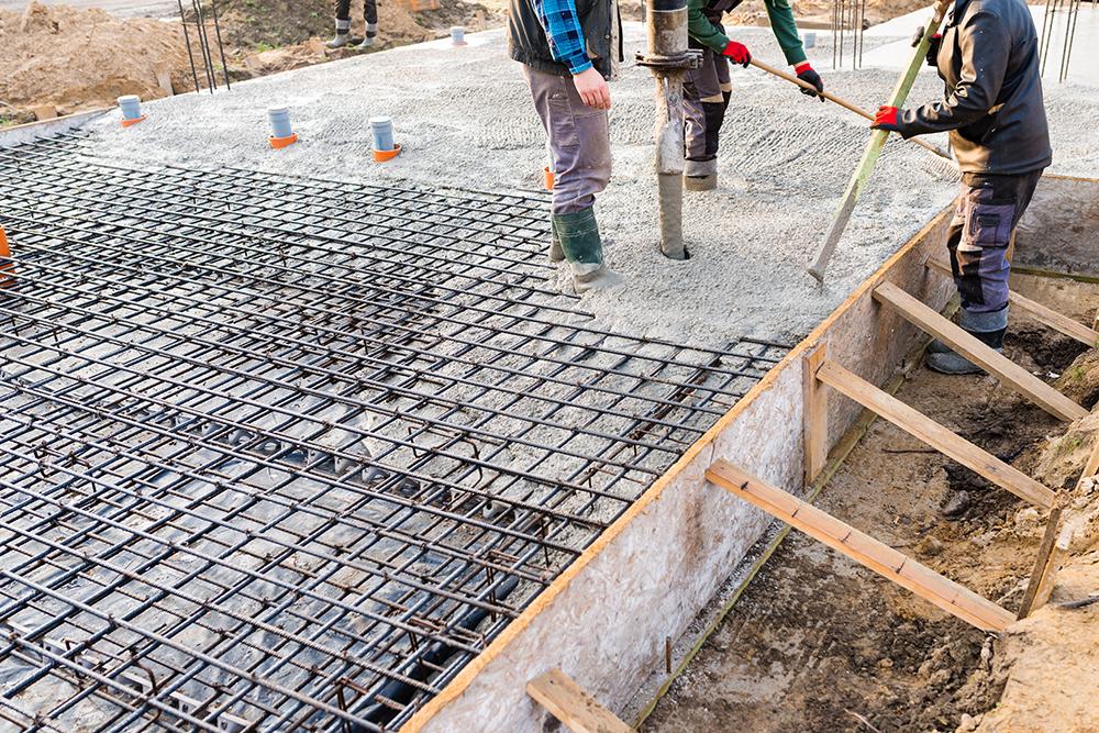 concrete curing temperature