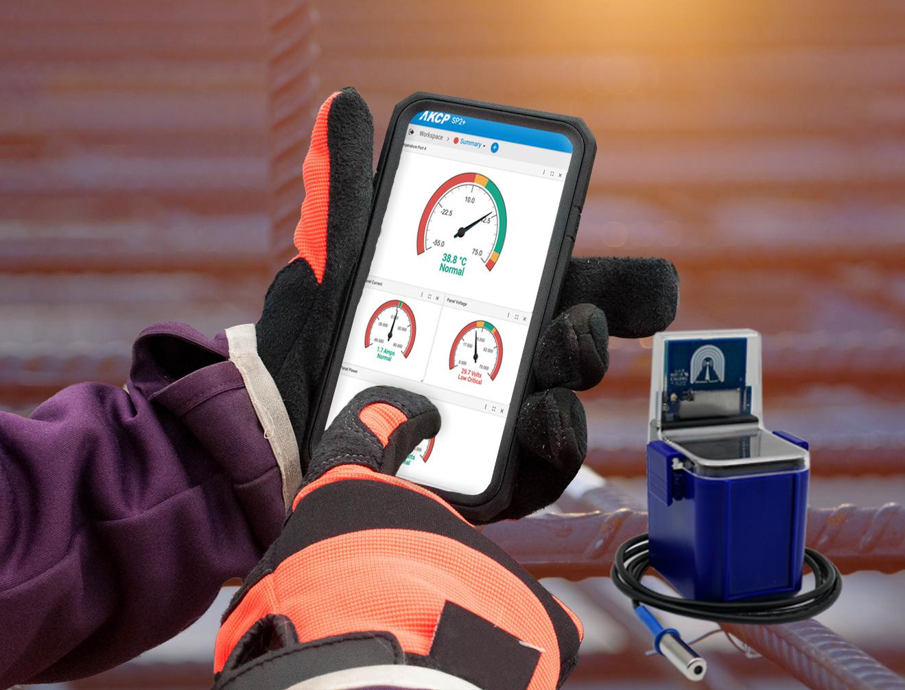 Concrete Temperature Sensors