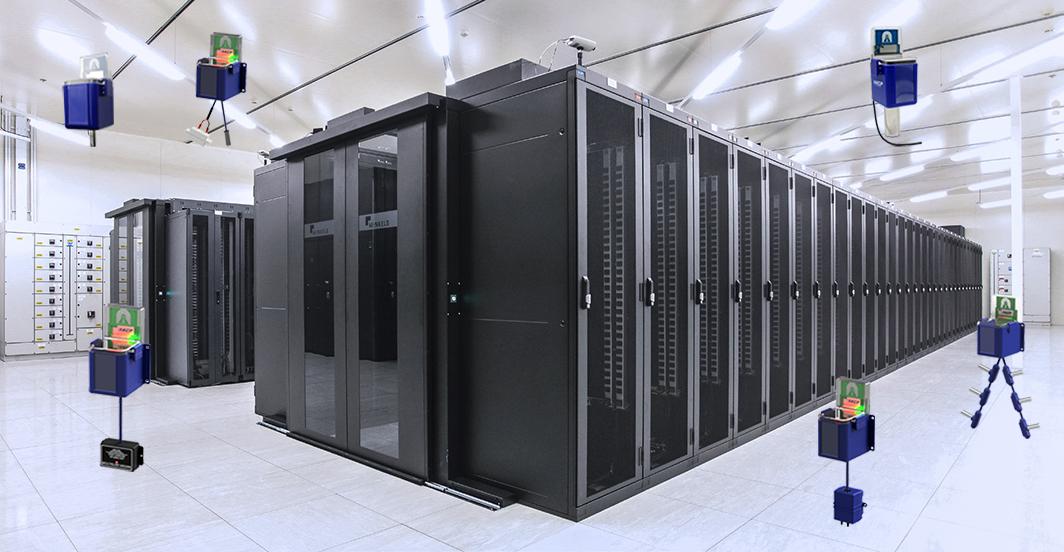 AKCP Wireless Sensor Network in a Data Center