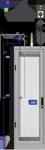 Rack Tempe sensor placementrature Monitoring