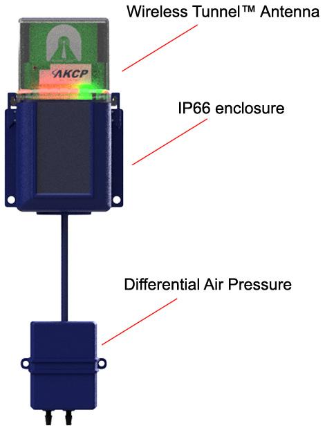 Wireless Air Pressure Differential Sensor