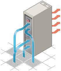 server rack airflow