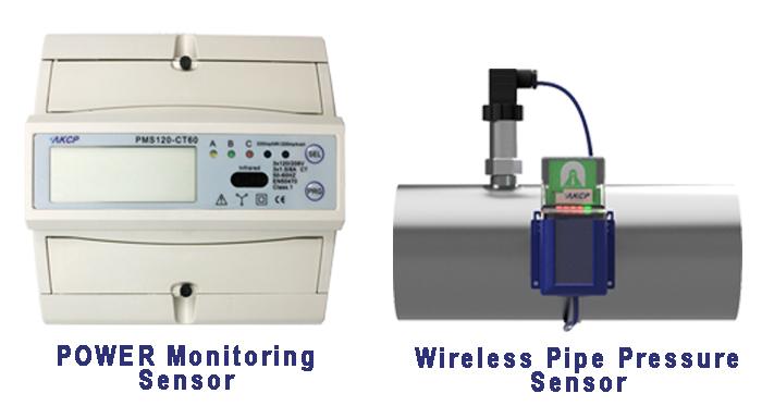 AKCP Wireless Pipe Pressure and Power Monitoring Sensors