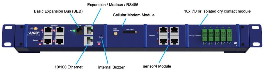 AKCP SensorProbeX+