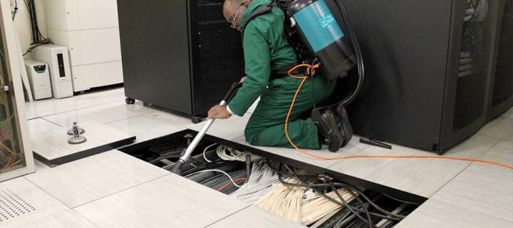 raised floor maintenance