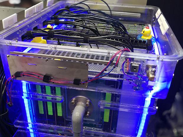 direct liquid cooling