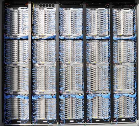 high-density data center